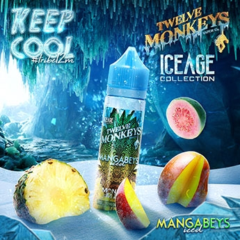 Twelve Monkeys - Mangabeys Iced Liquid 50 ml
